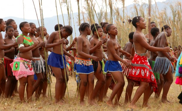 Swaziland: Pornographic Photos and Sex Tourists - the Sleazy Side of Swaziland's Reed Dance